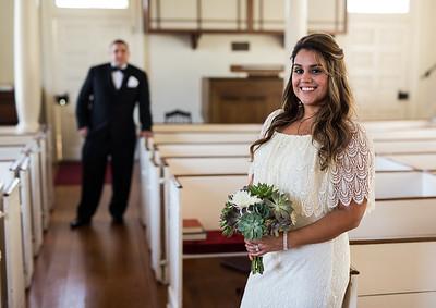 church wedding in Point of Rocks, MD