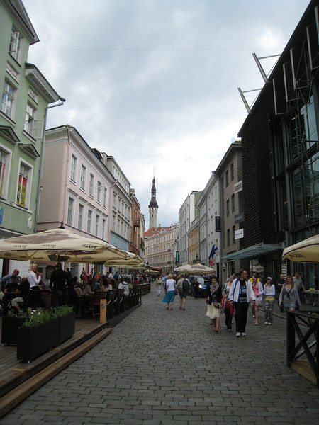 Street scene in Tallinn