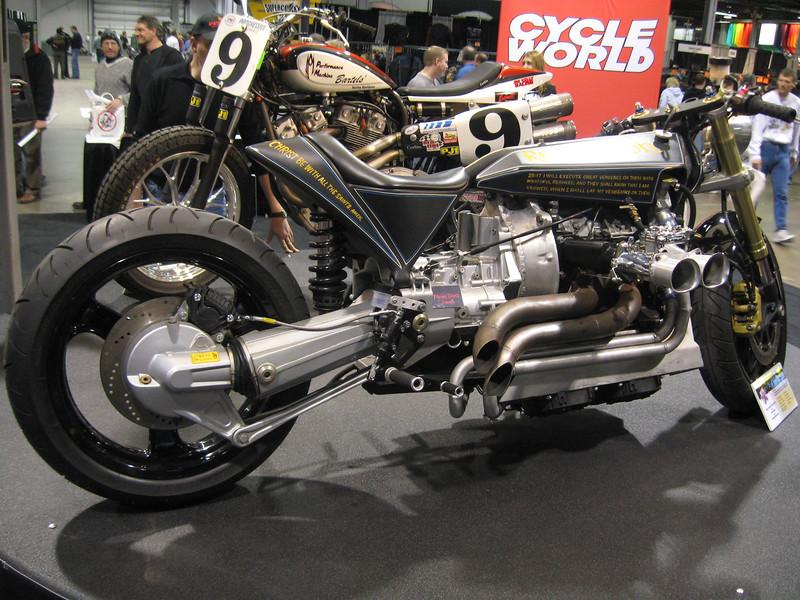 Revelation' Mazda 13b Rotary powered custom bike