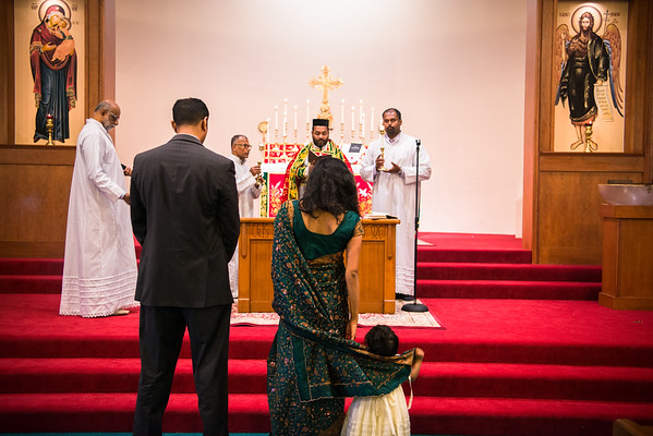 Zara's Baptism