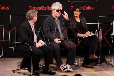 NEW YORK, NY - JUNE 07:  TimesTalks Presents: Pedro Almodovar at Times Center on June 7, 2013 in New York City.