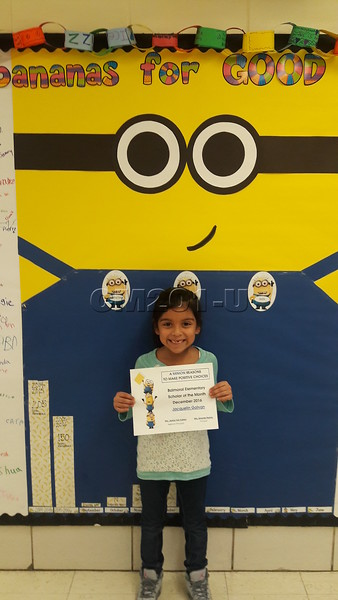 Scholar of the Month December