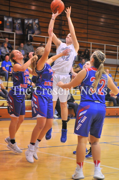 11-28-17 Sports Wayne Trace @ Defiance girls BB