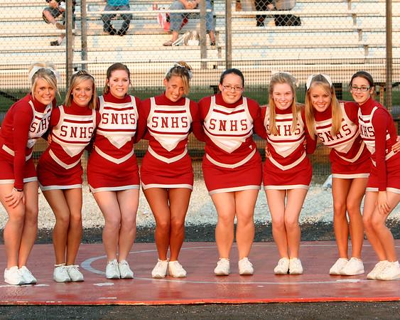 SN HS Cheerleading Team 07-08