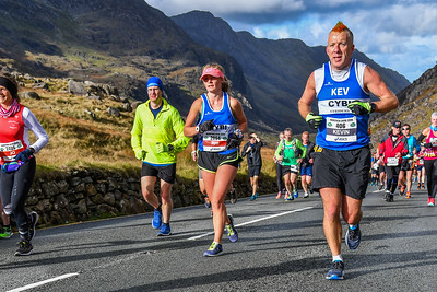 Marathon Eryri - Pen y Pass between 11.15 and 11.25