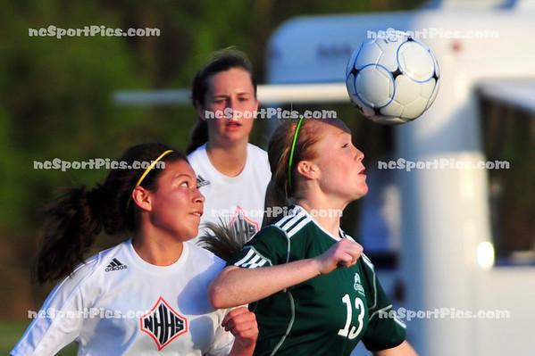2012-03-24 Girls Soccer vs New Hanover