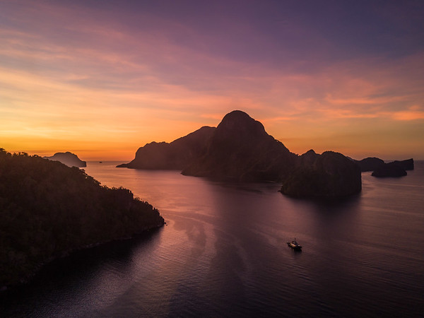 Aerial - Sunrise & Sunset