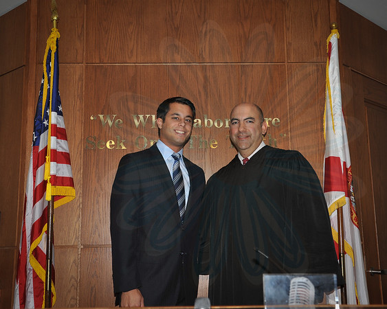 Mr. Rene DeLombard Courthouse Oath