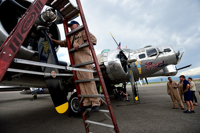 Photos: The Airbase Arizona Flying Museum Sentimental Journey B-17G in Broomfield