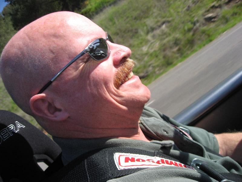 Tim feeling the G-spot force