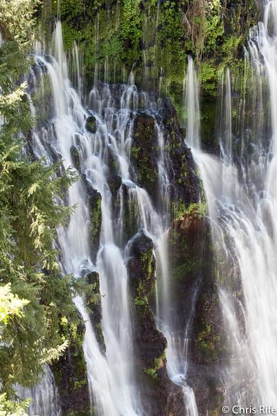 Redding Area Waterfalls, May 2017