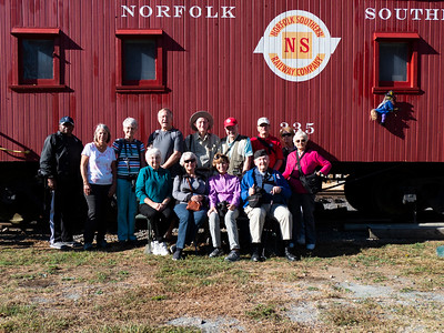 2019 New Hope Valley Railway Day Trip