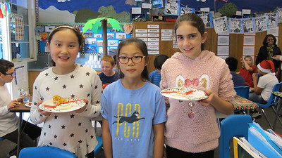 PCR Hosts Holiday Pizza Party