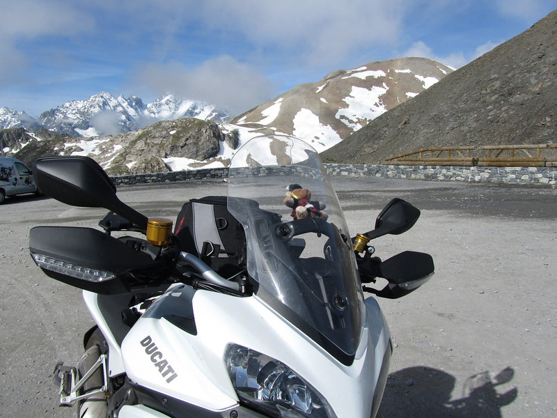 2/4 - Photo by Dutch Multistrada 1200 owner 'Duccer1200' (aka Frank) from   in the Netherlands