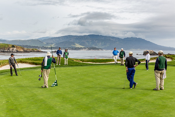 Pebble Beach Golf, May 2016