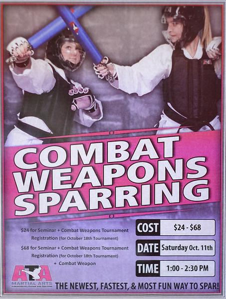 Combat Weapons Seminar - 10/11/14