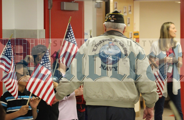 Veterans Day at Liberty Elementary