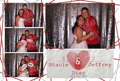 Jeffrey & Stacey's Wedding (LED Open Air Photo Booth)