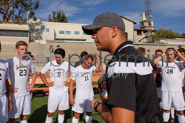 Oxy Men's Soccer vs Bristol 9-1-15