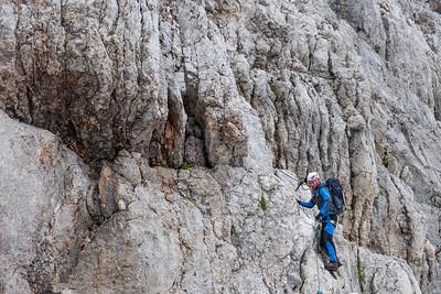Alpy - Hoher Dachstein (2995m) - červenec 2019