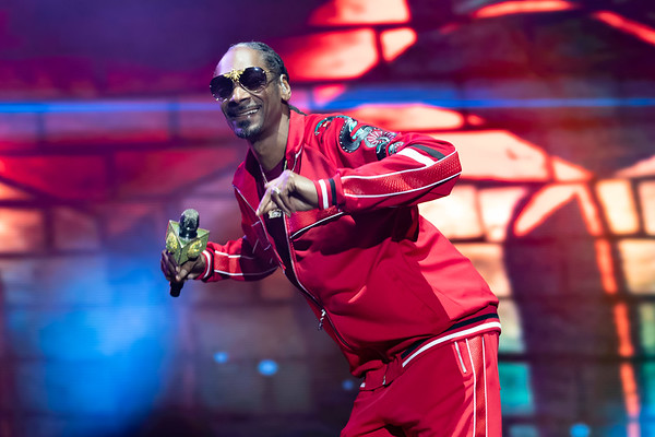Snoop Dogg performs at BottleRock 2018