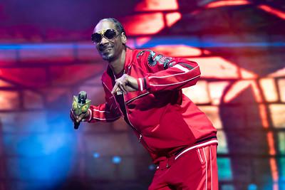 Snoop Dogg performs at BottleRock 2018