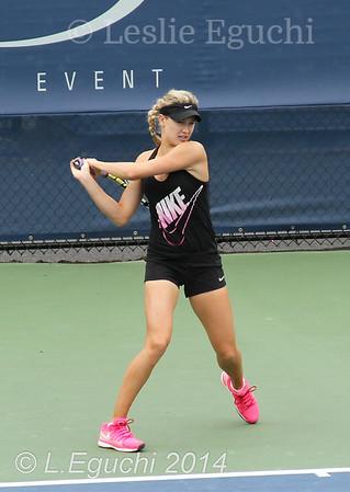 Eugenie Bouchard 2014 US Open