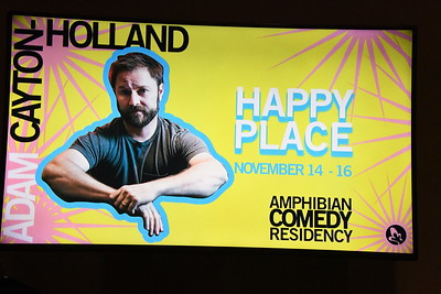 11-14-2019 Adam Cayton-Holland Happy Place @ Amphibian Stage