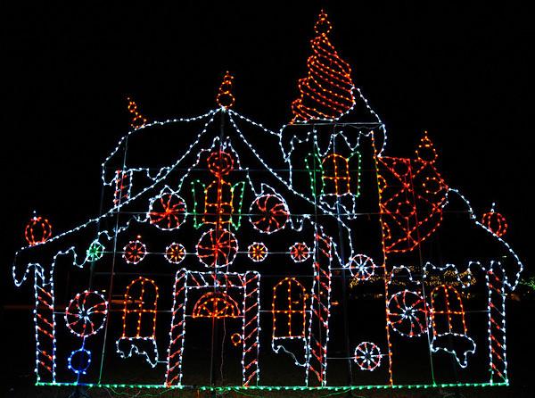 Largo Park Holiday Lights:  2008