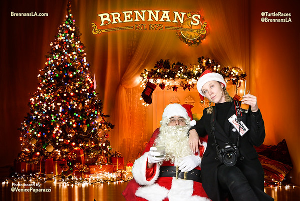 12.22.18 Brennan's Bad Santa Photo Booth