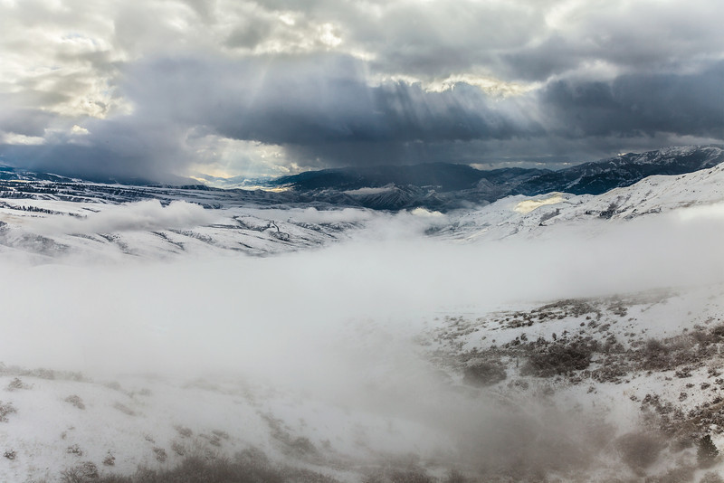 Winter Storm, White Bird, Idaho