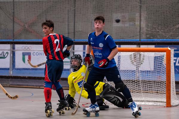 Roller Hockey Scandiano vs GSH Trissino