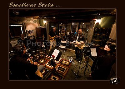 Soundhouse Studio - In Session with Pat Kelly & The Core