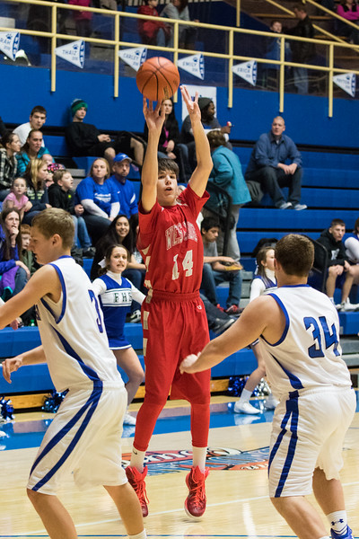 01-31-15 West Lafayette BB vs. Frankfort