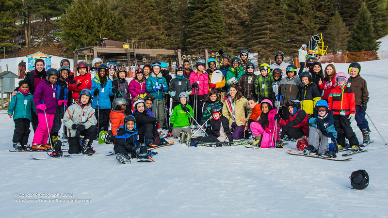 Capital Prep Ski Sundown 2014
