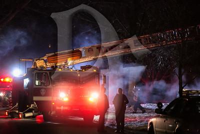 Chimney Fire - Gates, NY 2/13/13