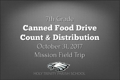 7th Grade Mission Field Trip