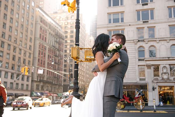 Melissa & James Central Park Post Wedding