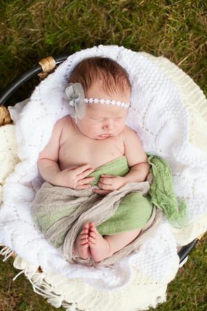 Addison at 7 Days | Born June 24, 2014