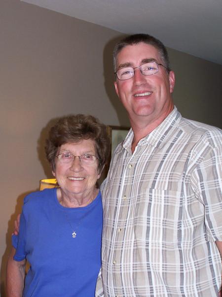 Steve & Mom Myrtle Craig