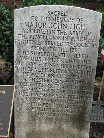 Major John Light Grave