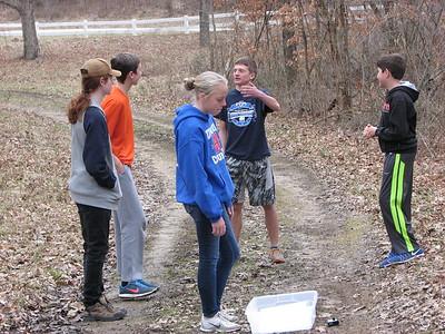Union County orienteering practice - Feb 6, 2017