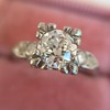 .69ct Transitional Cut Diamond Solitaire 12