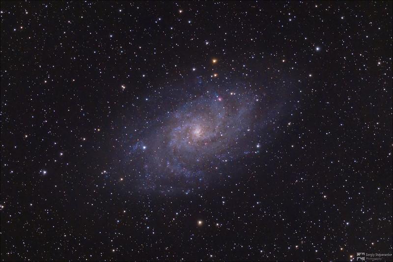 Triangulum Galaxy M33 | Галактика Треугольника M33
