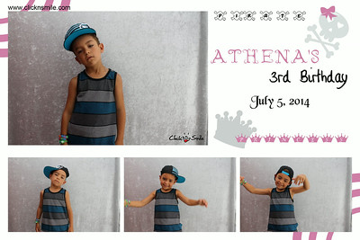 Athena's 3rd Birthday