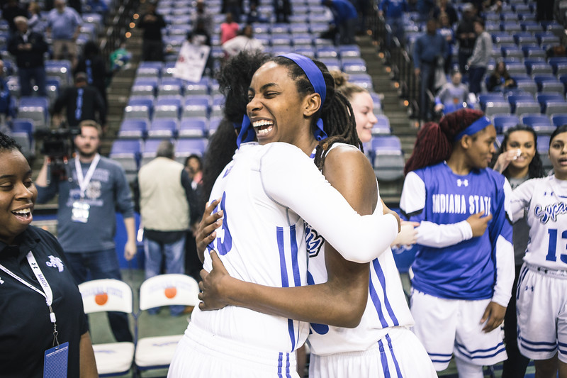 Indiana State hosts the Loyola Ramblers on Sunday, February 25, 2018 at the Hulman Center in Terre Haute, Indiana.