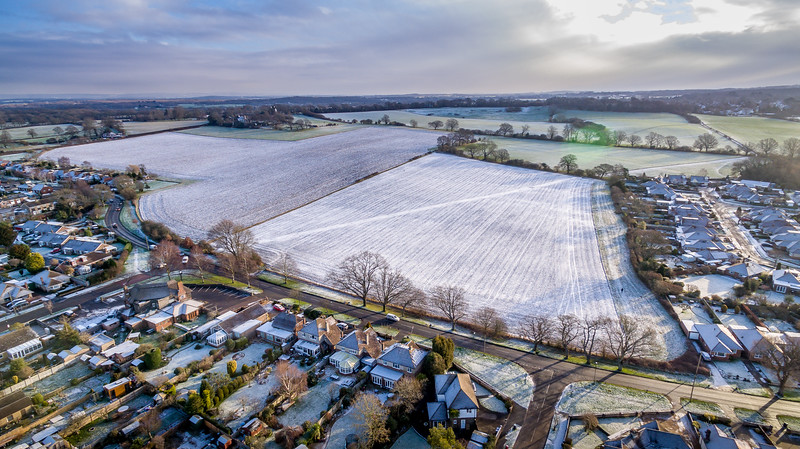 Hassocks from the Air 5