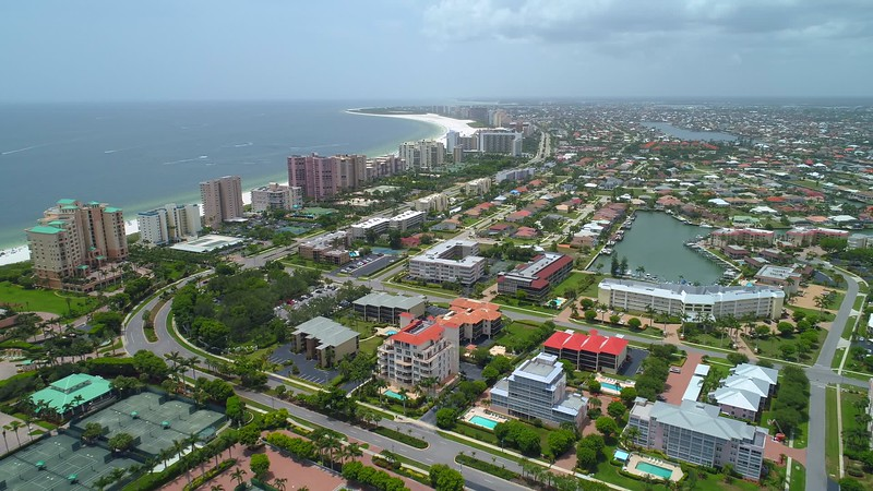 Video of Marco Island south of Naples Florida USA