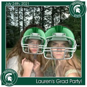 Lauren's Grad Party - July 24, 2021