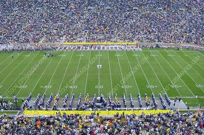 WVU vs Notre Dame - Halftime Formations